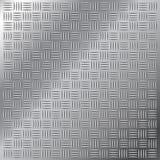 Piccolo reticolo trasversale dell'impronta del portello dell'acciaio inossidabile Fotografia Stock Libera da Diritti