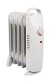 Piccolo riscaldatore elettrico con il cli Fotografia Stock Libera da Diritti