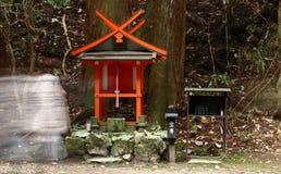 Piccolo santuario shintoista Immagine Stock Libera da Diritti