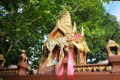 Piccolo santuario tailandese Immagine Stock