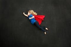 Piccolo superheroine dolce Fotografie Stock Libere da Diritti