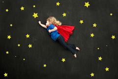 Piccolo superheroine dolce Fotografia Stock Libera da Diritti