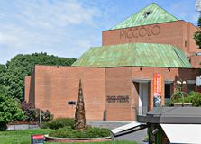 Piccolo Teatro in Milan, Italy. stock images