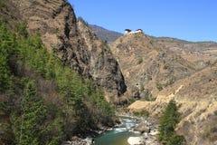 Piccolo tempio sulla montagna Immagine Stock Libera da Diritti