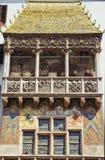 Piccolo tetto dorato Fotografia Stock Libera da Diritti