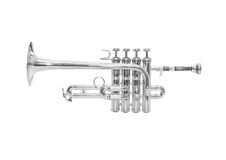 Piccolo trumpet Stock Images
