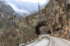 Piccolo tunnel Fotografie Stock