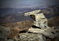 Piccolo uomo di pietra Fotografia Stock