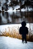 Piccolo uomo, grandi sogni fotografie stock libere da diritti