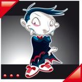 Piccolo vampiro Fotografia Stock Libera da Diritti