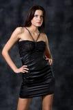 Piccolo vestito nero immagini stock