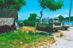 Piccolo villaggio in Bali Fotografie Stock Libere da Diritti