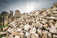 Piccolo villaggio dei periodi romani, Italia immagini stock