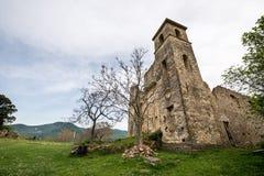 Piccolo villaggio dei periodi romani, Italia fotografie stock libere da diritti