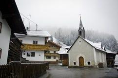 Piccolo villaggio del Tirolo Immagine Stock