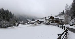 Piccolo villaggio del Tirolo Fotografia Stock