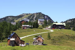 Piccolo villaggio dell'Austria Immagine Stock Libera da Diritti