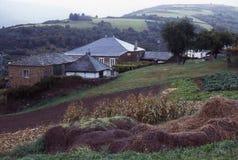 Piccolo villaggio della galicia spagna Royalty Free Stock Photo