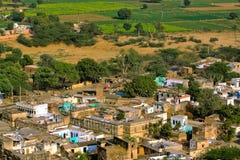 Piccolo villaggio indiano Fotografie Stock