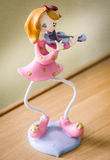 Piccolo violinista Immagini Stock