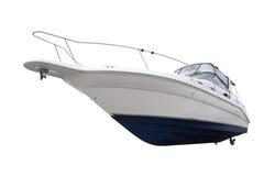 Piccolo yacht di lusso isolato Immagine Stock Libera da Diritti