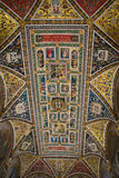 Piccolomini Library in Siena Cathedral Stock Images