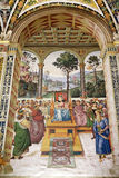Piccolomini library, Siena, Tuscany, Italy Royalty Free Stock Images