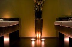 Pièce de massage dans la STATION THERMALE Photographie stock libre de droits