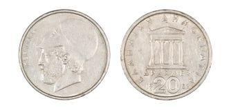 Pièce de monnaie de Pericles Image stock