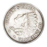 Pièce de monnaie fausse Images libres de droits