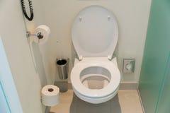 Pièce de toilette Image libre de droits