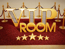 Pièce de VIP Image libre de droits
