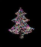 Picea del Año Nuevo Foto de archivo libre de regalías