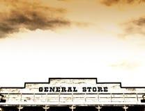 Épicerie générale sur la rue principale Amérique Photographie stock