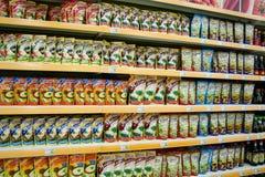 Épiceries de stock Photographie stock libre de droits