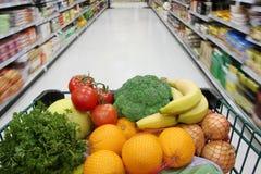 Épiceries saines Photos stock