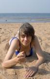 Pièces avec le sable Image libre de droits