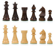 Pièces d'échecs Image stock