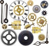 Pièces d'horloge Photos libres de droits
