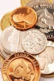 Pièces de monnaie Photo libre de droits