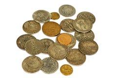 Pièces de monnaie médiévales Photographie stock