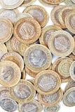 Pièces de monnaie turques Images stock