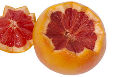 Pices of grapefruit Royalty Free Stock Images