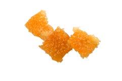 Pices honeycomb z miodem Zdjęcie Stock