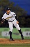 Pichet de base-ball de Ligue Mineure Image libre de droits