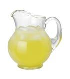 Pichet de citronnade (avec le chemin de découpage) Images stock