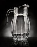 Pichet en verre Photographie stock libre de droits