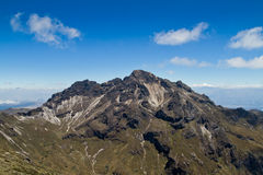 Pichincha volcano in nearby of Quito, Ecuador Stock Photography