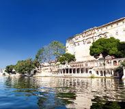 Pichola lake in India Udaipur Rajasthan Stock Image