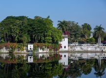 湖Pichola在乌代浦 库存图片